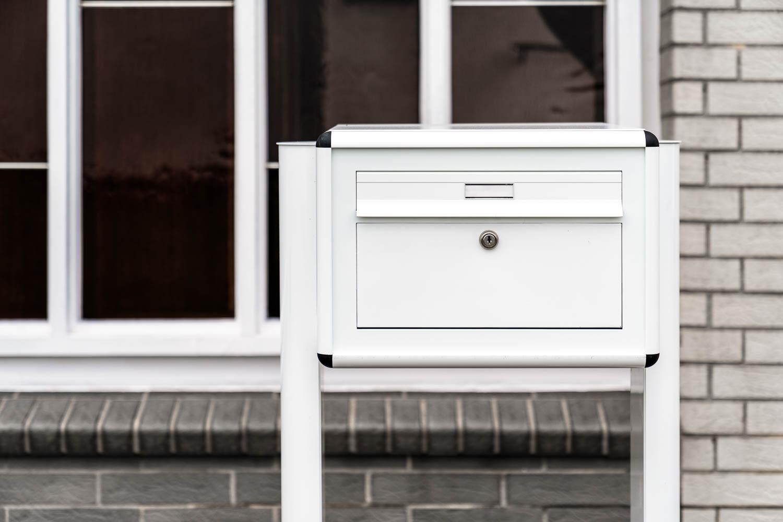 Briefkasten - weiß