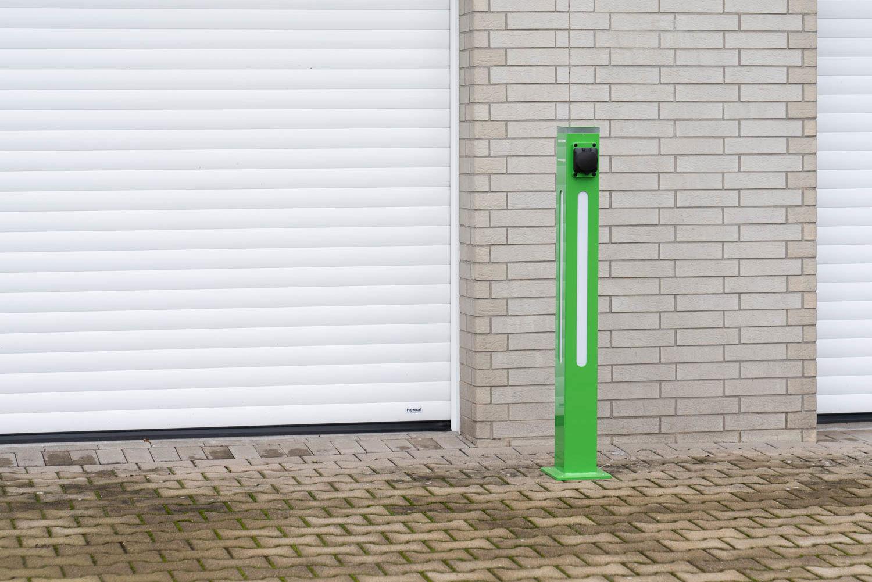 Gehäuse für Elektrotankstellen-Säule