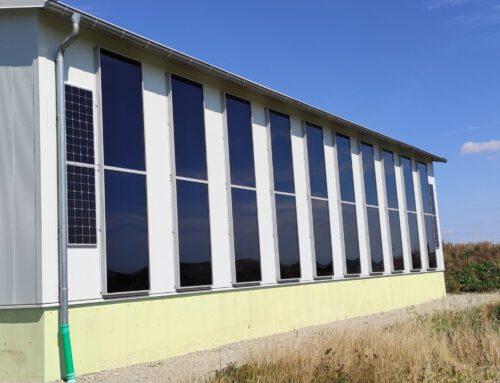 Großanlage zum solaren Trocknen und Heizen in Warburg